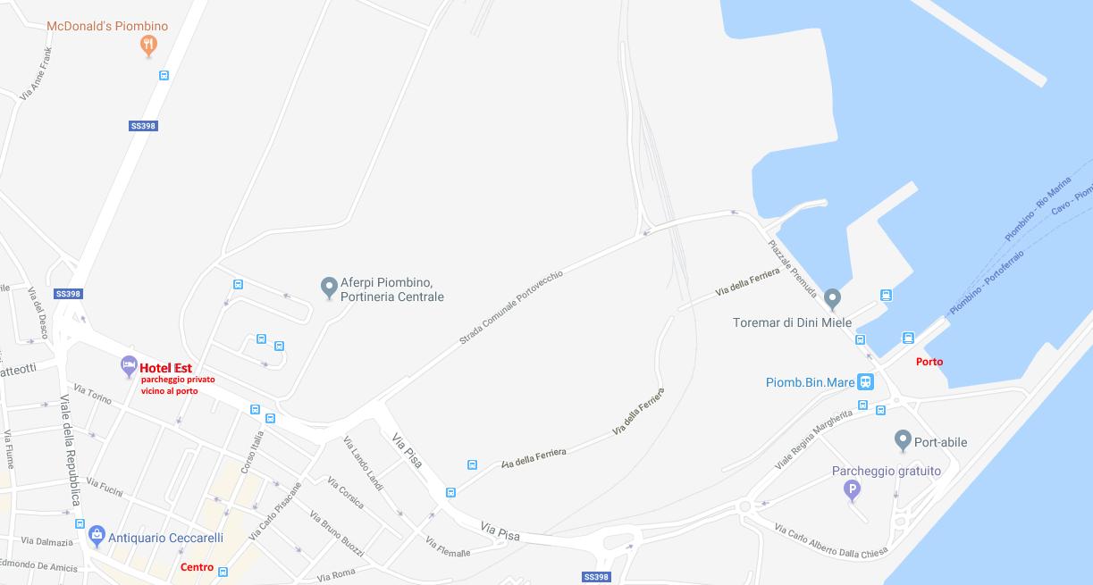 hotel piombino vicino porto, vicino centro, vicino aferpi